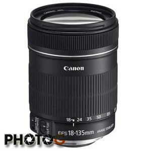 Canon EF-S 18-135mm F3.5-5.6  STM  防手震鏡頭【 拆 KIT 鏡 、無彩盒】 (彩虹公司貨)