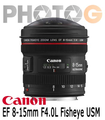 Canon EF Fisheye 8-15mm F4.0 L USM 超廣角變焦魚眼鏡頭(8-15;公司貨)