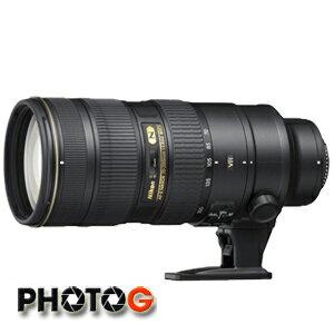 【12期0利率】Nikon AF-S Nikkor FX 70-200mm F2.8G VR II 望遠變焦防手震鏡頭 小黑六(70-200,國祥公司貨)