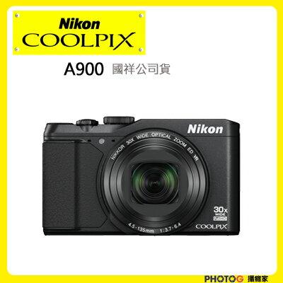 Nikon COOLPIX A900 a900 翻轉螢幕 35X 光學變焦 望遠 (國祥公司貨) 登錄送原廠電池