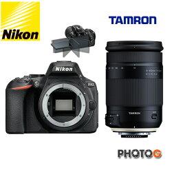【d5600 送SD 32G+清潔組】Nikon D5600 Kit  ( 含 TAMRON  18-400mm  f/3.5-6.3G HLD B028 鏡頭 )  內建WIFI ; GPS 、翻轉螢幕 國祥公司貨