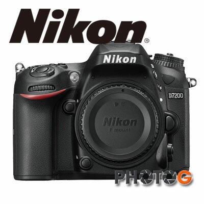 Nikon D7200 Body 單機身 數位單眼