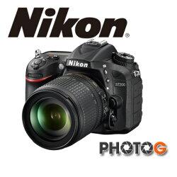 【送64G+清潔組、保護貼】Nikon D7200 kit  含 AF-S 18-140VR 鏡頭   (國祥公司貨)