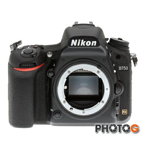 【送64G+清潔組+保護貼】 NIKON D750 DSLR 單機身 全片幅 單眼相機 國祥公司貨