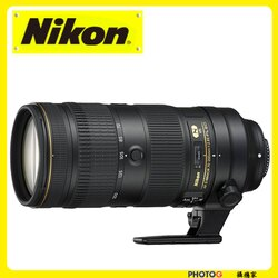NIKON AF-S NIKKOR FX 70-200mm f/2.8E FL ED VR  大光圈 恆定光圈 ( 小黑7 ; 70-200;國祥公司貨)
