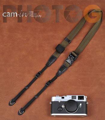 Cam-in Camin 忍者相機背帶 8834 橄欖色 速調 25mm 單車逸品 GF2/EP3/600D/7D/5D/D700/D800/D5100/A77/SONY/M6/M1