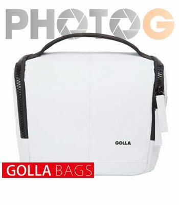 Golla 玩趣系列相機包-清透 白 M G1561  另附可調節式肩帶,既可肩揹亦可提手提
