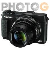 Canon數位相機推薦到CANON canon PowerShot G1X Mark II 【送32G+5件式清潔組】相機 1.5吋感光元件 (公司貨)就在photoG推薦Canon數位相機