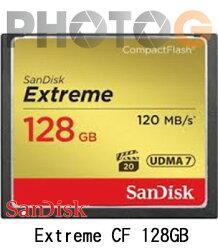 新帝 SanDisk Extreme CF 128G / 128GB ( 800X 120MB/s,公司貨終身保固)