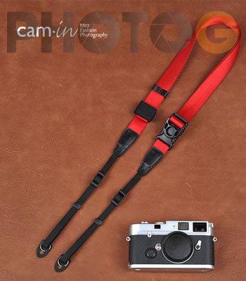 Cam~in Camin 忍者相機背帶 8843 紅色 速調 25mm 單車逸品 GF2