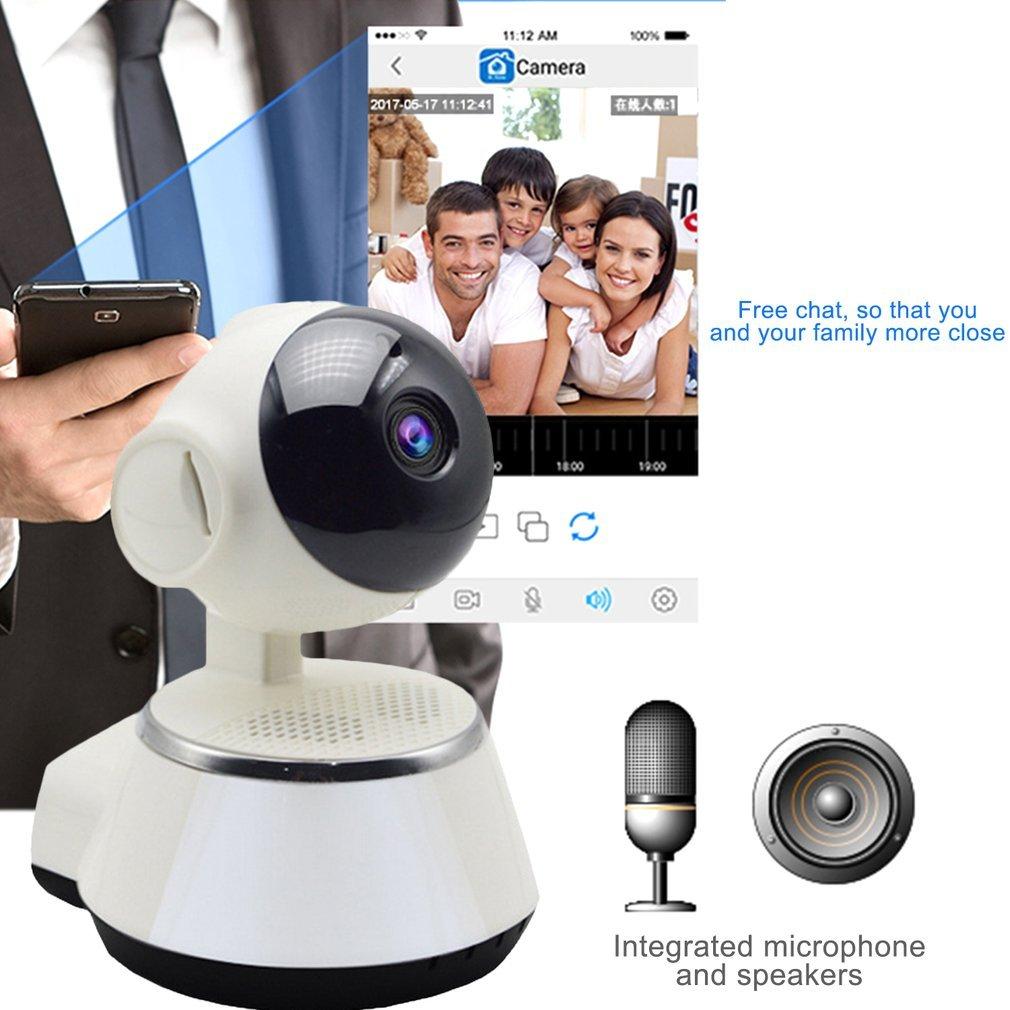 V380 HD IP Camera Wireless Camera Audio Record 720P Home Security Camera  main white