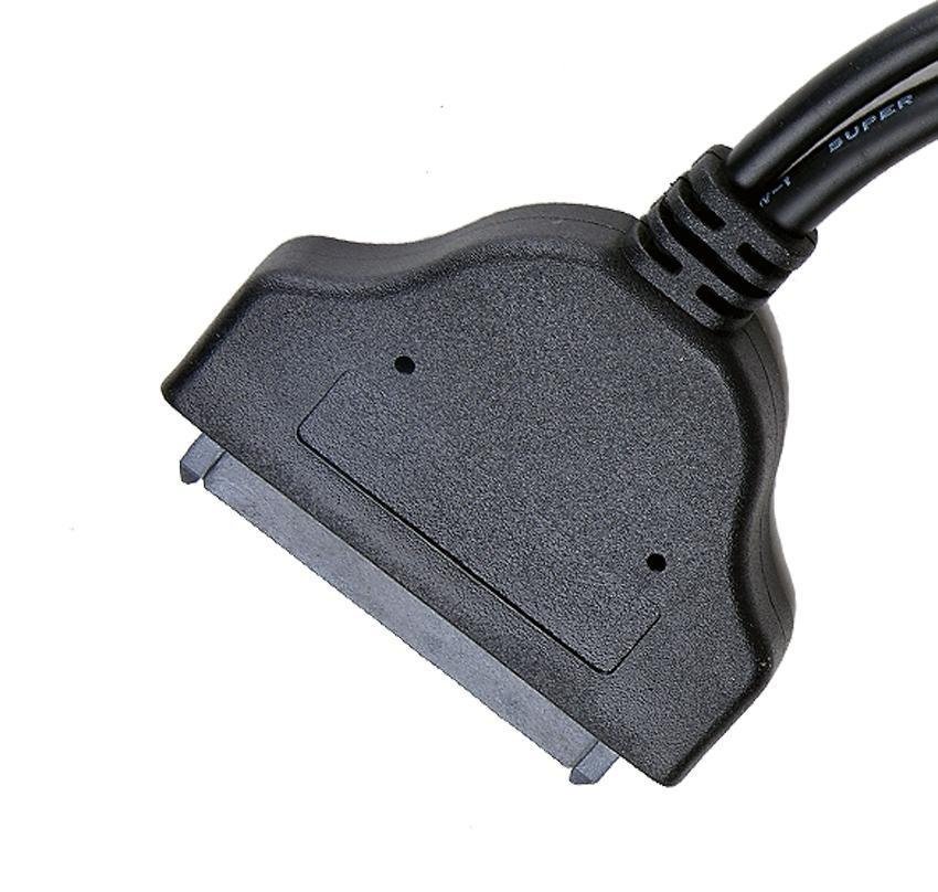 USB3.0 to SATA 22Pin Data Power Cable Adapter for 2.5inch HDD Hard Disk Driver 3