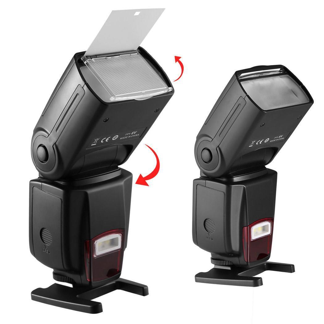 Flash Speedlite DSLR Cameras Digital Cameras Flash Light with Protecting Bag 4
