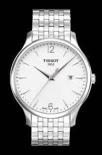 TISSOT天梭表T0636101103700TRADITION簡約現代時尚腕錶白面42mm