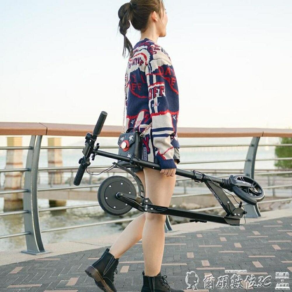 電動滑板車體感型電助力電動滑板車成人可折疊迷你型代步車鋰 LX『清涼一夏鉅惠』 清涼一夏特價