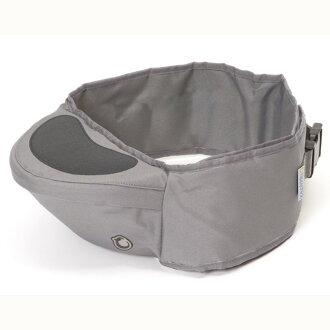 英國 Hippychick Hipseat 新款坐墊式抱嬰腰帶(有防滑軟座墊) 灰色*夏日微風*