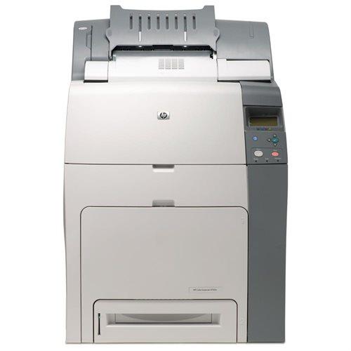 HP LaserJet 4700N Laser Printer - Color - 600 x 600 dpi Print - Plain Paper Print - Desktop - 31 ppm Mono / 31 ppm Color Print - Letter, Legal, Executive, Statement, Envelope No. 10 - 600 sheets Standard Input Capacity - 850000 Duty Cycle - Manual Duplex 0
