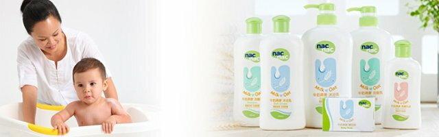 nac nac - 牛奶燕麥洗髮乳 700ml 1