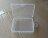 PS Mall 通用包裝盒小盒子收納盒透明塑膠盒【J1629】 4