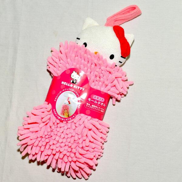 HelloKitty大擦手布吸水速乾立體剪裁日本帶回正版商品