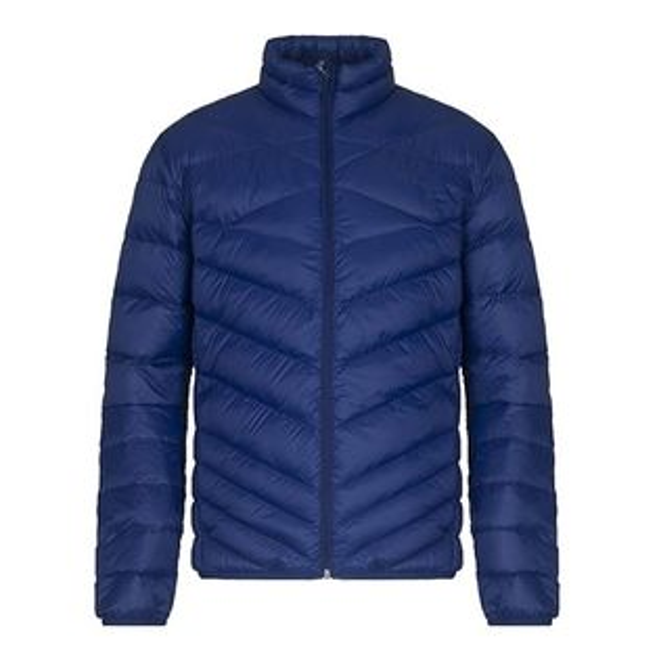 PUMA男裝外套羽絨休閒保暖輕量防潑水可折疊藍【運動世界】59459016
