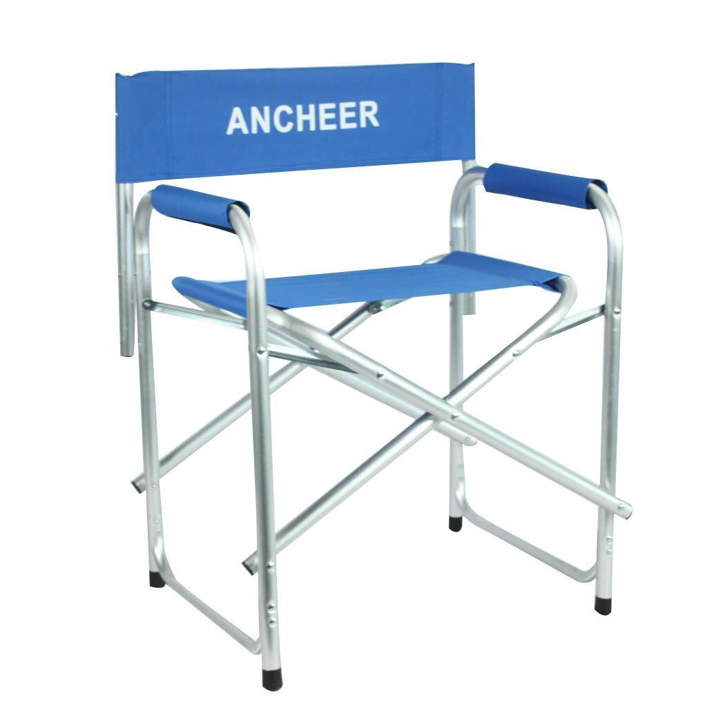 Portable Folding Director Chair with Side Table 2