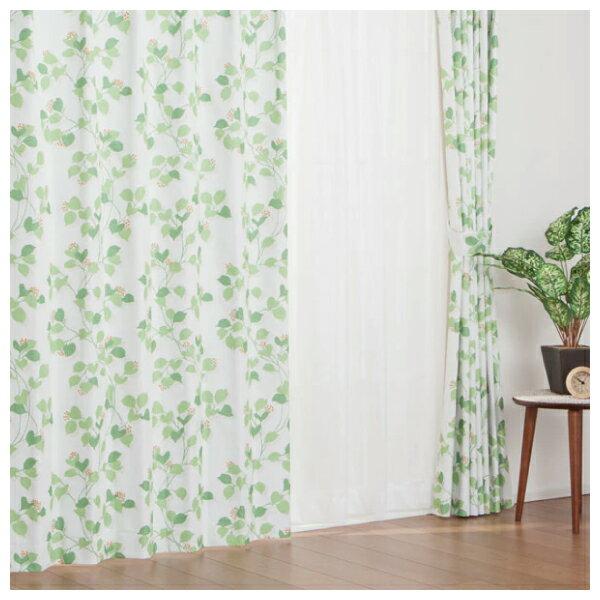 窗簾 FOGLIA YGR 100×200×1 NITORI宜得利家居 1