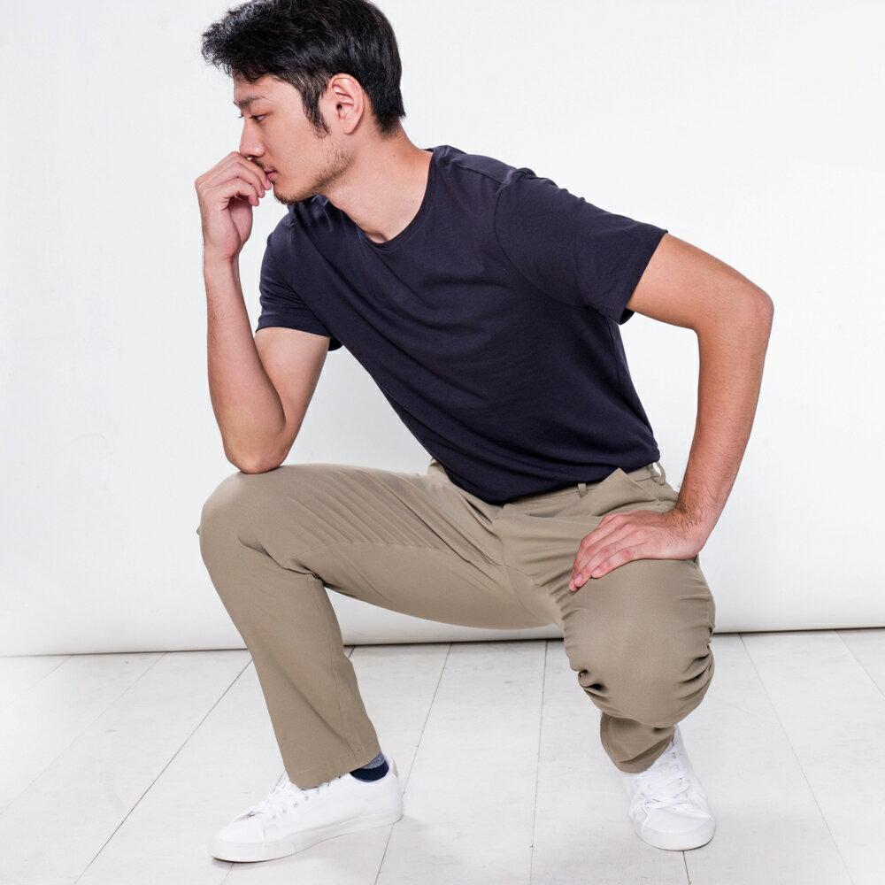 莫蘭迪卡其八口袋商旅紳士褲 MANHATTAN KHAKI 8 POCKETS 4