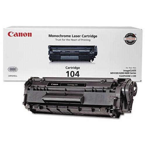 Canon Toner Cartridge 104 - Black 1