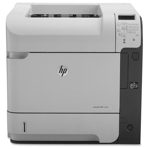HP LaserJet 600 M602N Laser Printer - Monochrome - 1200 x 1200 dpi Print - Plain Paper Print - Desktop - 52 ppm Mono Print - C6 Envelope, A4, A5, A6, B5 (JIS), B6 (JIS), 16K, Executive JIS, RA4, Legal, ... - 600 sheets Standard Input Capacity - 225000 Dut 0