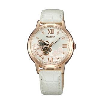 Orient 東方錶(FDB07006Z)HAPPY STREAM系列 四葉幸運草機械錶/白面36mm