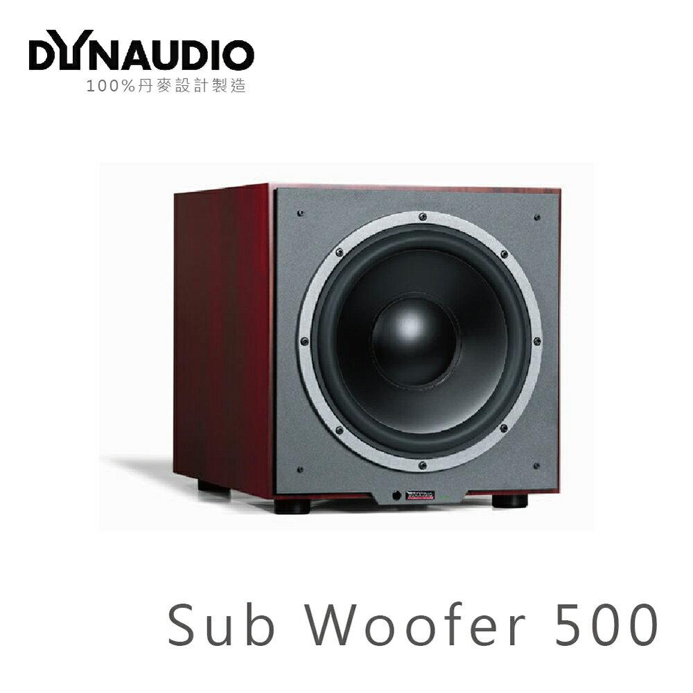 ~丹麥 Dynaudio~SUB 500 超低音喇叭 cherry