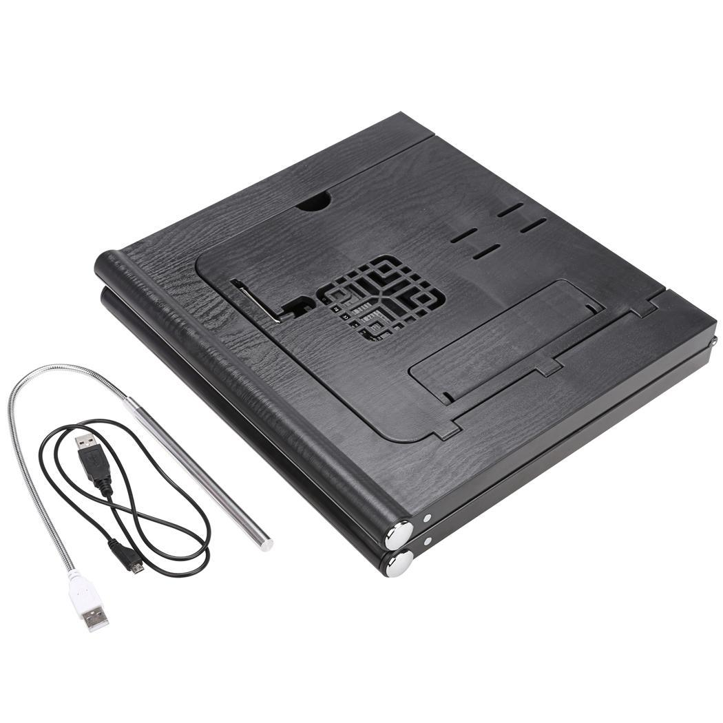Universal 13inch Laptop Pad Folding Table with Power Bank 10000mAh 4