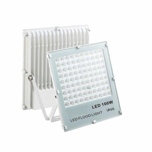 2017年新款100W投光燈110V~220V薄型保固一年國際認證戶外燈投射燈另有10W50W30W