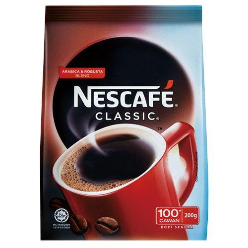 雀巢咖啡醇品經典風味補充包200g【愛買】
