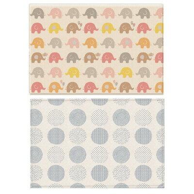 【悅兒樂婦幼用品?】韓國Parklon 雙面PVC帕龍泡泡地墊(大象款) PL-033
