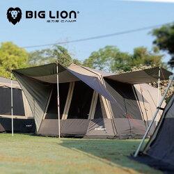 另送贈品 實體展示 威力屋露營帳篷 300KING 超防水 3000mm銀膠抗UV帳篷