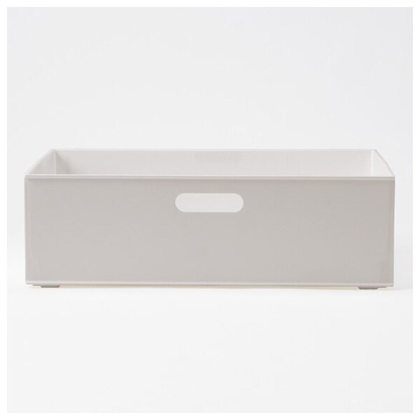 收納盒 橫式半格型 N INBOX GY NITORI宜得利家居 3