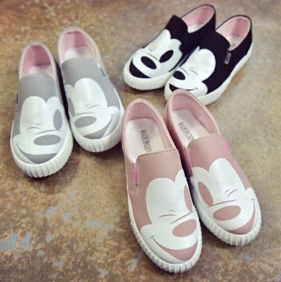 Ms.Perfect韓版米奇懶人鞋樂福鞋