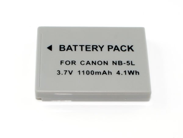 【新風尚潮流】For CANON 數位相機專用鋰電池 NB-5L IXUS 860IS/870IS NB5L