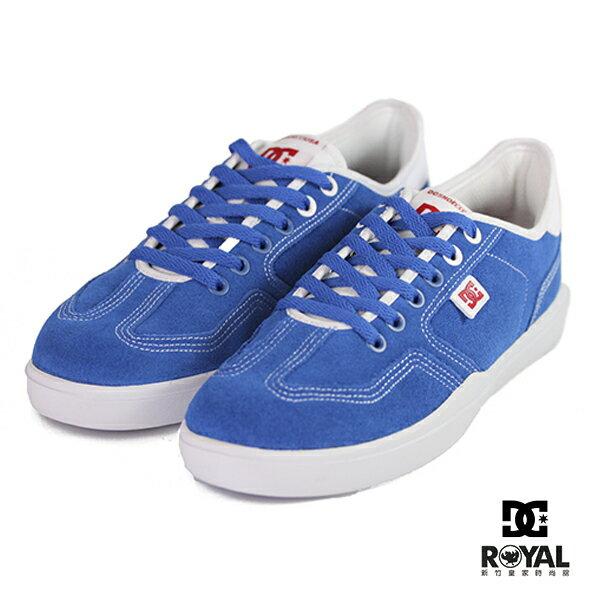 DC新竹皇家VESTREY藍色麂皮休閒鞋男款NO.B0084
