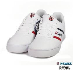 K-SWISS 新竹皇家 Court Lite 白色 皮質 休閒鞋 男女款 NO.B0322