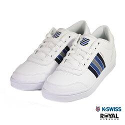 K-SWISS 新竹皇家 Court Clarksin 白色 皮質 休閒鞋 男款 NO.B0352