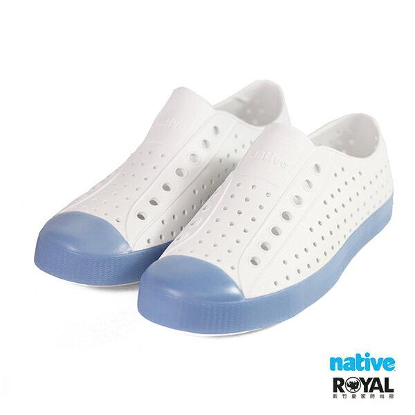 Native Jefferson 冰塊藍色 輕量 洞洞 懶人鞋 男女款 NO.B0167【新竹皇家】
