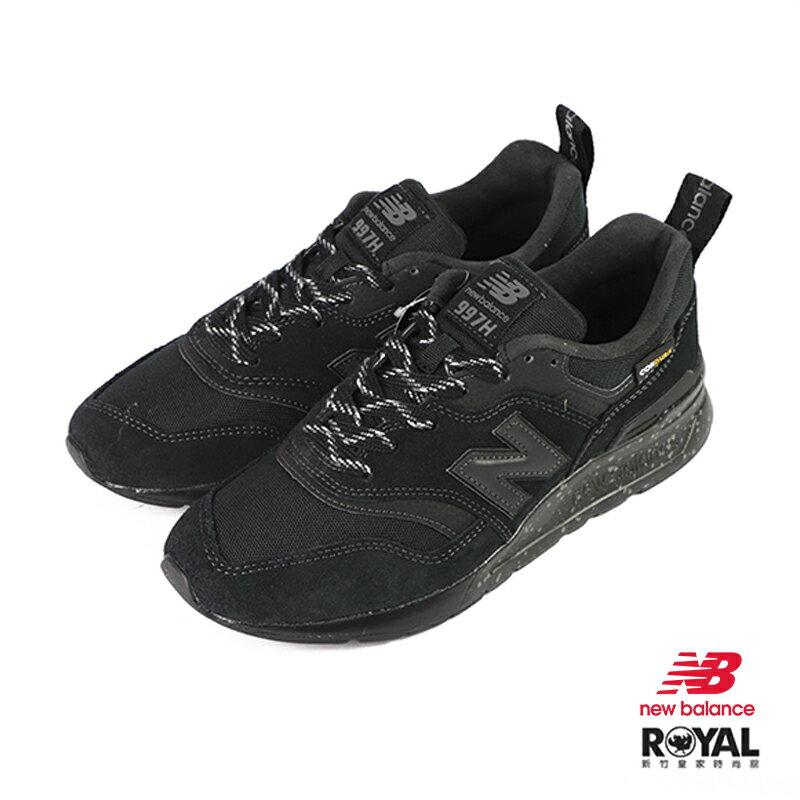 New balance 997 黑色 麂皮 運動休閒鞋 男女款 NO.B0912【新竹皇家 CM997HCY】