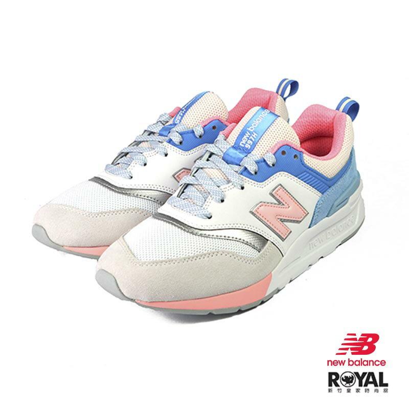 New Balance 997H 粉藍色 皮質 網布 經典 復刻 休閒運動鞋 女款 NO.I9745【新竹皇家 CW997HBC】