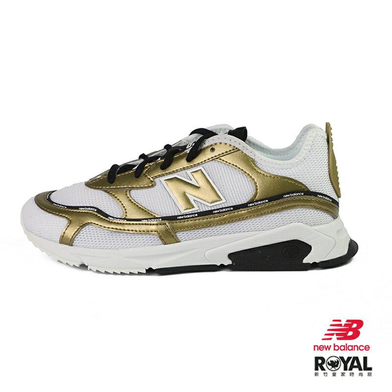 New Balance X-Racer 白色 皮質 網布 休閒運動鞋 女款 NO.I9957【新竹皇家 WSXRCHILD】
