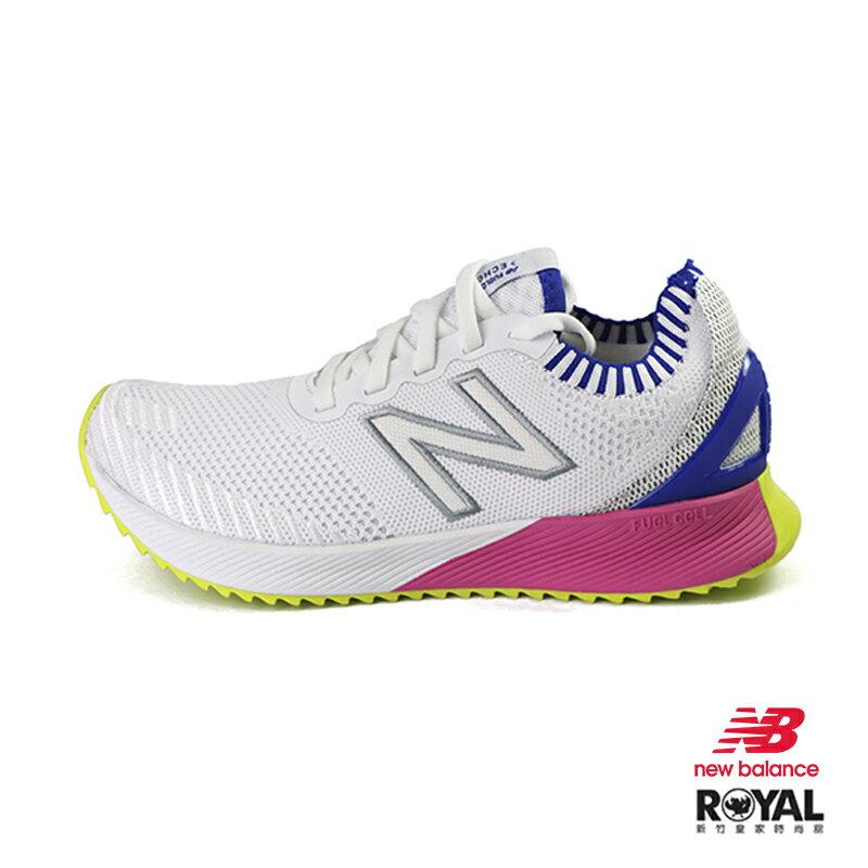 【滿額領券折$150】New balance Fuelccll 白色 織布 套入 運動休閒鞋 女款 NO.J0040【新竹皇家 WFCECSW】