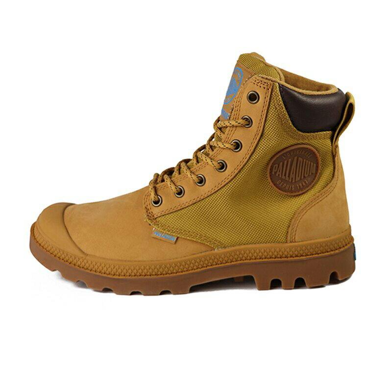 Palladium Pampa 咖啡色 防水 軍靴 皮質 高筒 男女款 NO.B1078【新竹皇家 73234-228】