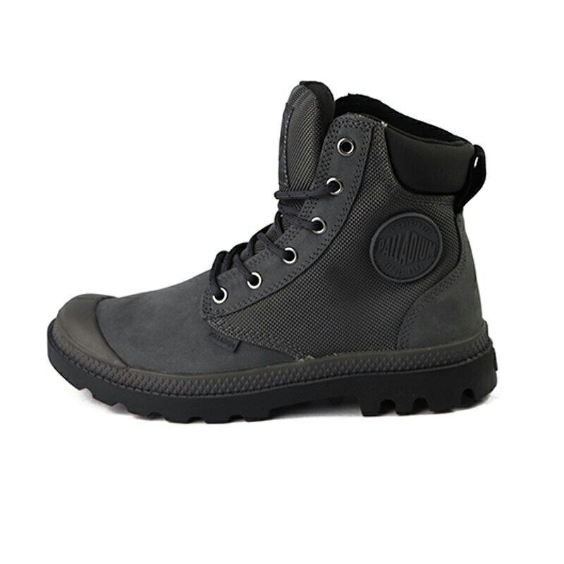 Palladium Pampa 暗灰色 防水 軍靴 皮質 高筒 男女款 NO.B1080【新竹皇家 73234-078】